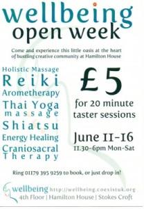 Wellbeing Openweek